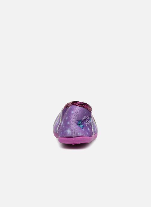 Chaussons Frozen Septante Violet vue droite