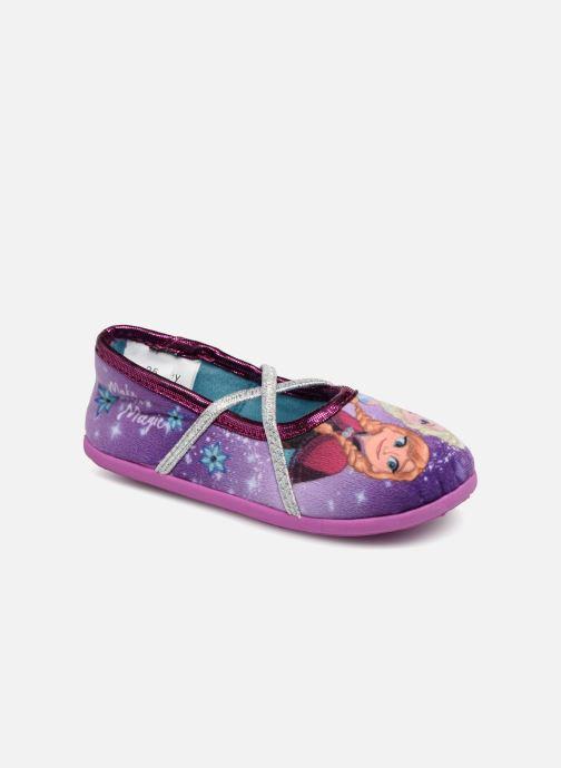 Chaussons Frozen Septante Violet vue détail/paire