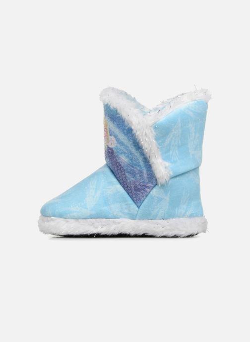 Chaussons Frozen Sabeline Bleu vue face