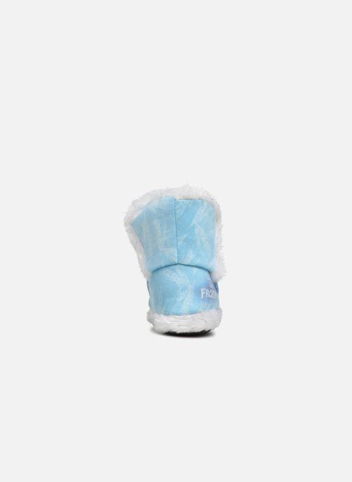 Chaussons Frozen Sabeline Bleu vue droite