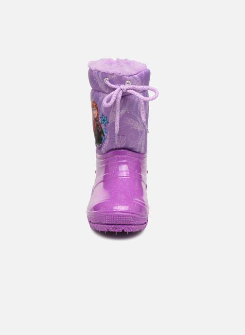 Sportschuhe Frozen Sibérie lila schuhe getragen