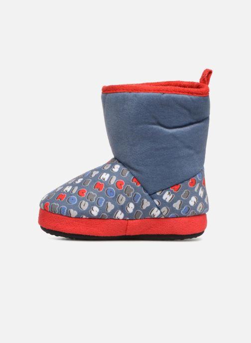 Pantoffels Mickey Sanaga Grijs voorkant