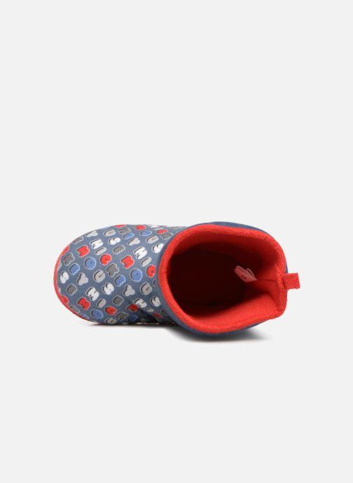Pantoffels Mickey Sanaga Grijs links