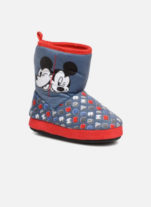 Pantoffels Mickey Sanaga Grijs detail