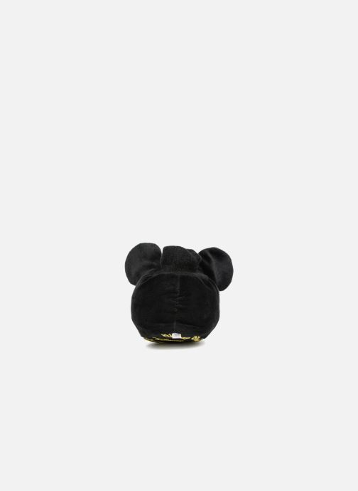 Pantuflas Mickey Mouse Sini Negro vista lateral derecha