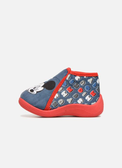 Chaussons Mickey Mouse Siata Bleu vue face