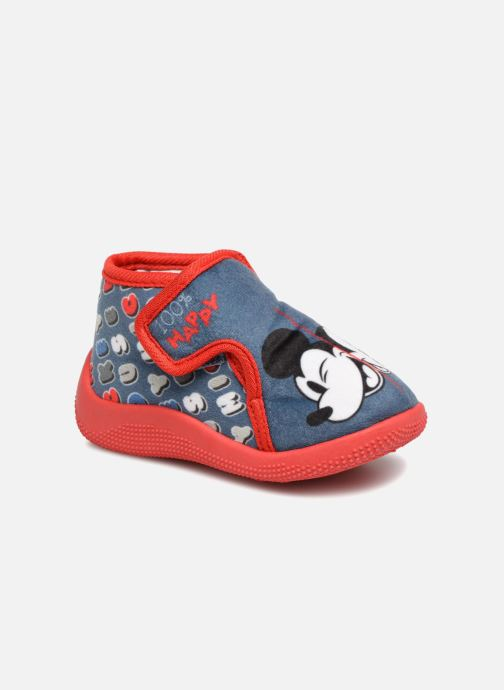 Slippers Mickey Siata Blue detailed view/ Pair view