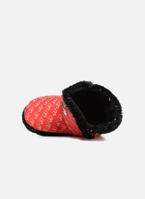 Pantofole Minnie Simone Rosso immagine sinistra