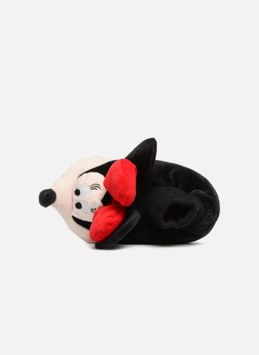 Pantuflas Minnie Sini Rojo vista lateral izquierda