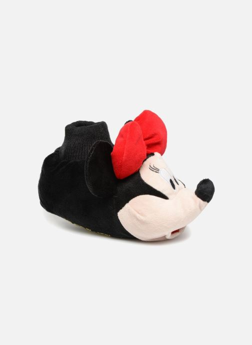 Slippers Minnie Sini Red detailed view/ Pair view