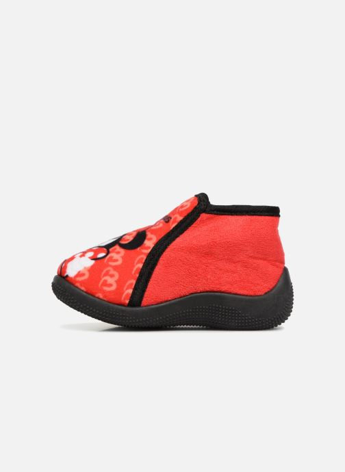 Chaussons Minnie Siata Rouge vue face