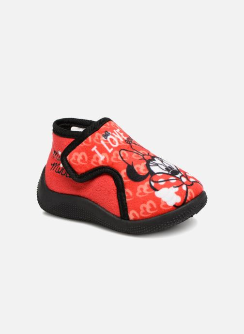 Slippers Minnie Siata Red detailed view/ Pair view