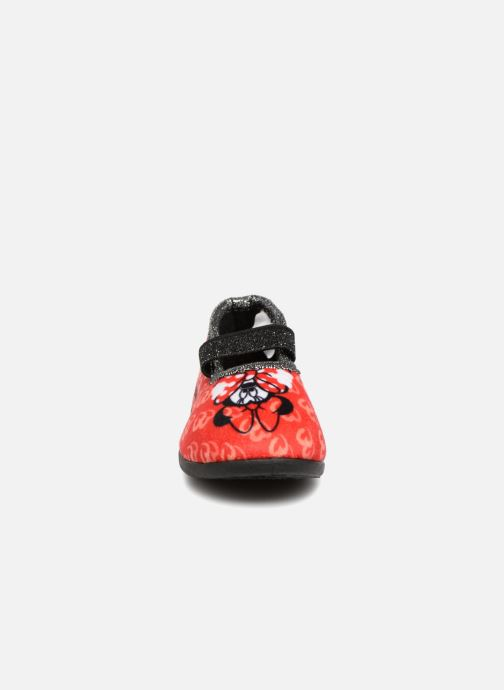 Chaussons Minnie Sabal Rouge vue portées chaussures