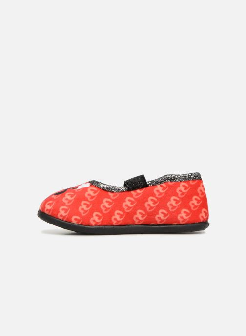 Chaussons Minnie Sabal Rouge vue face