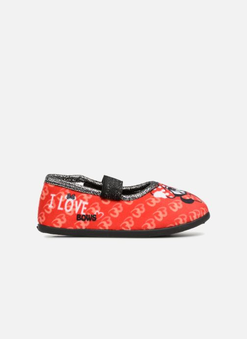 Pantoffels Minnie Sabal Rood achterkant