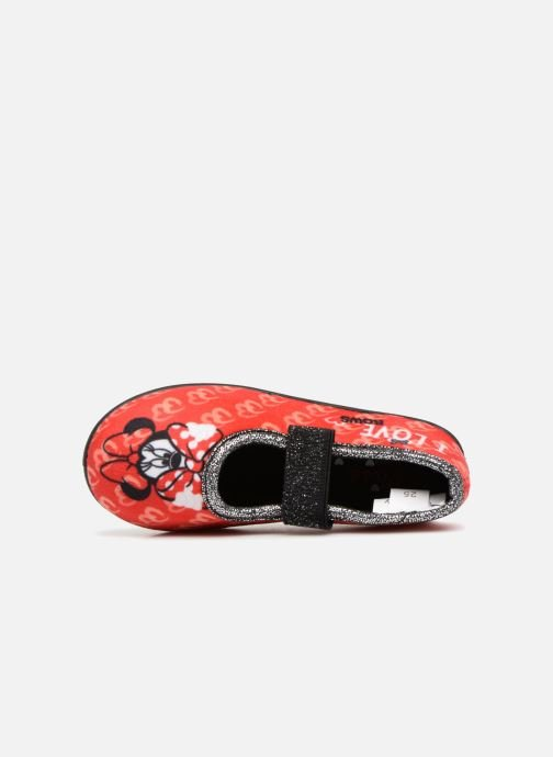 Slippers Minnie Sabal Red view from the left