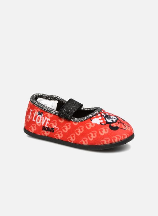 Slippers Minnie Sabal Red detailed view/ Pair view