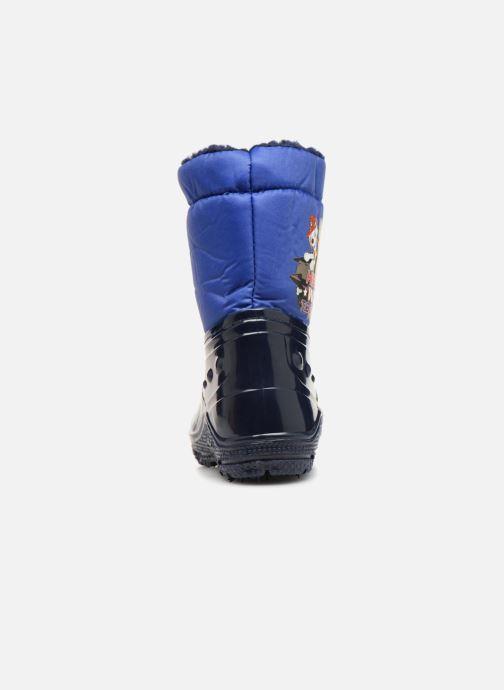 Chaussures de sport Pat Patrouille Scratch Bleu vue droite