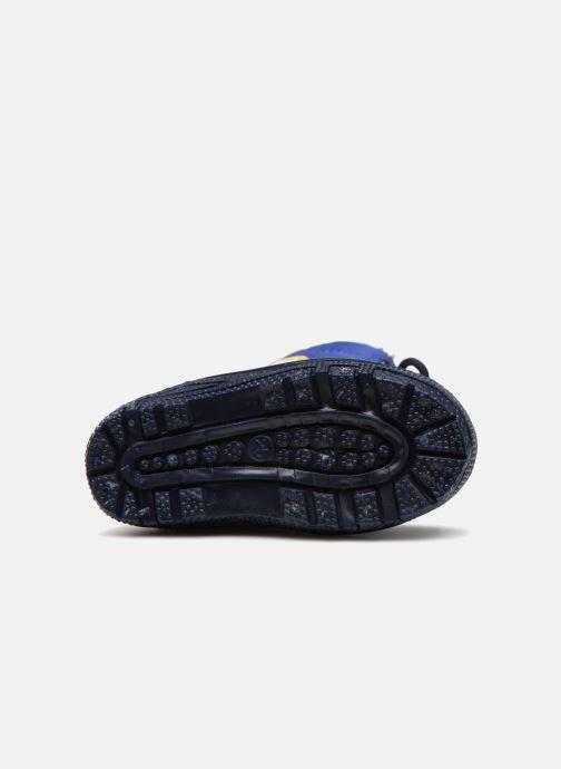 Chaussures de sport Pat Patrouille Scratch Bleu vue haut
