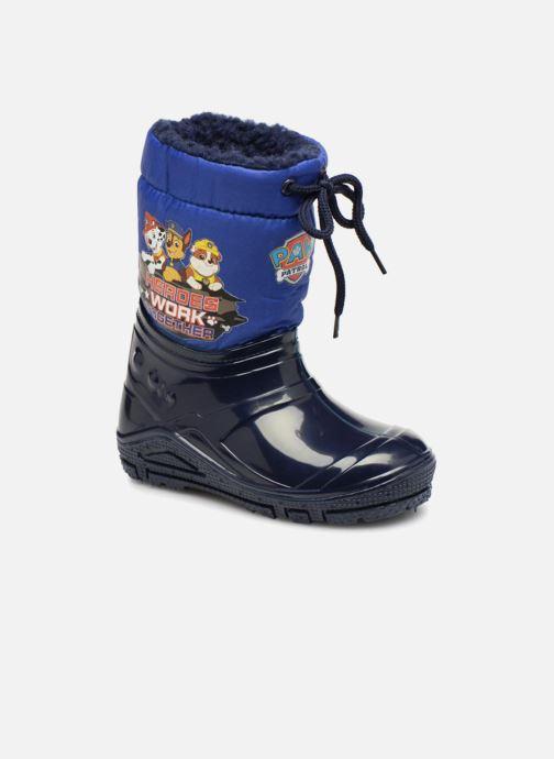 Chaussures de sport Pat Patrouille Scratch Bleu vue détail/paire