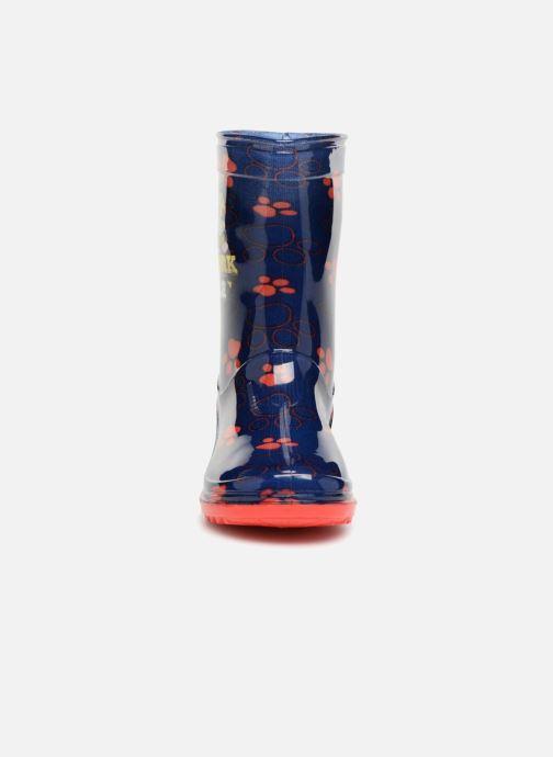 Bottes Pat Patrouille Sahara Bleu vue portées chaussures