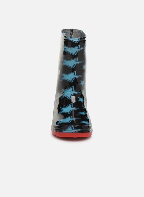 Stiefel Pat Patrouille Sahara blau schuhe getragen