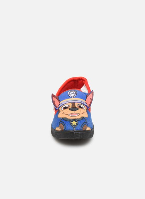 Chaussons Pat Patrouille Sospiro Bleu vue portées chaussures