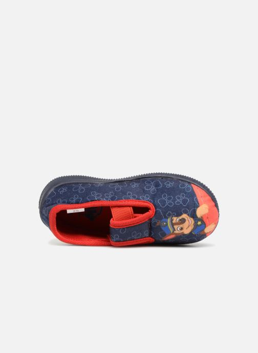 Slippers Pat Patrouille Serba Boy Blue view from the left