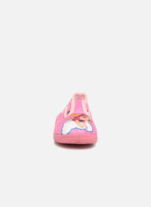 Chaussons Pat Patrouille Serba Girl Rose vue portées chaussures