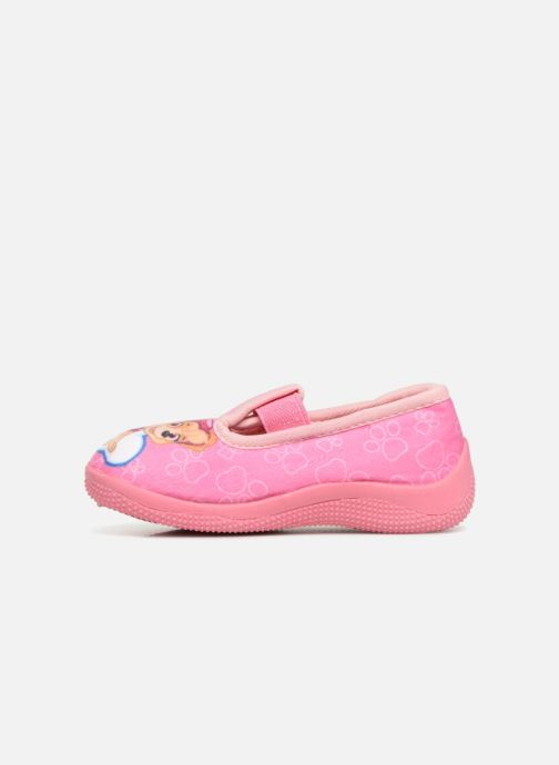 Chaussons Pat Patrouille Serba Girl Rose vue face