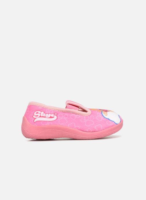 Slippers Pat Patrouille Serba Girl Pink back view