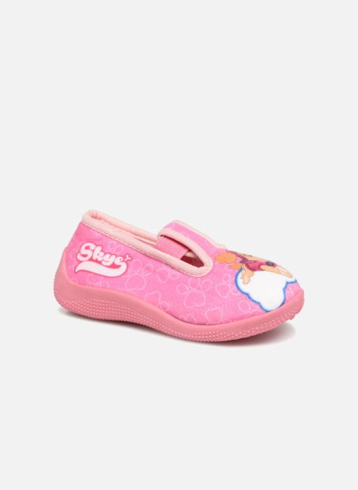 Slippers Pat Patrouille Serba Girl Pink detailed view/ Pair view
