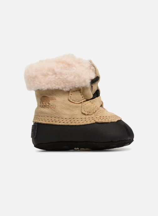 Slippers Sorel Caribootie Beige back view