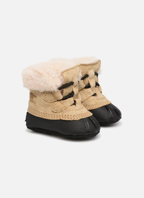 Slippers Sorel Caribootie Beige detailed view/ Pair view