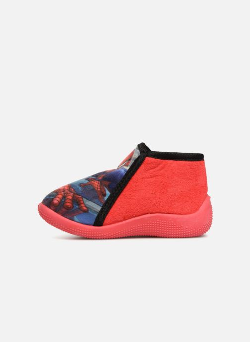 Chaussons Spiderman Sabir Rouge vue face