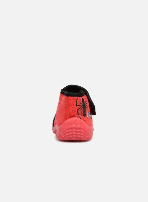Pantuflas Spiderman Sabir Rojo vista lateral derecha