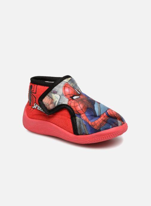 Pantuflas Spiderman Sabir Rojo vista de detalle / par