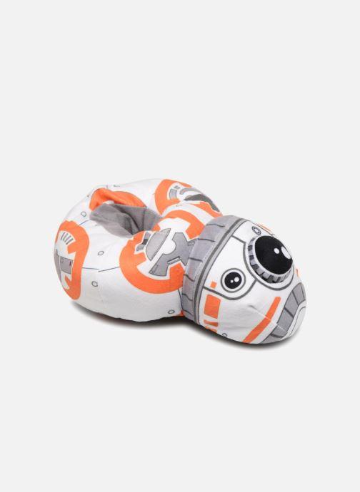 Hjemmesko Star Wars Symphorien Hvid detaljeret billede af skoene