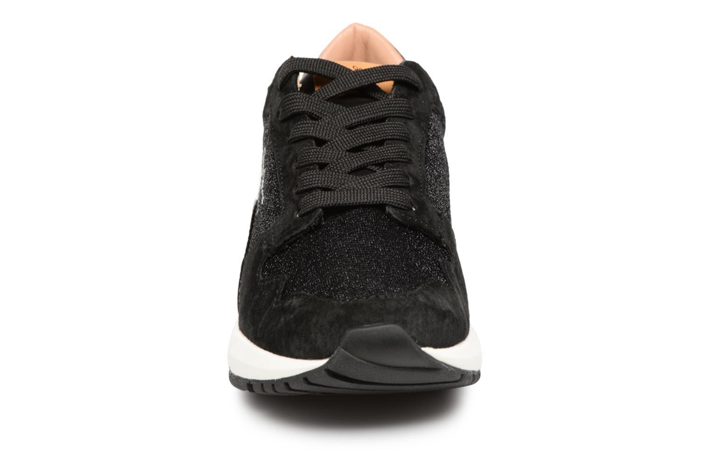 Baskets Pepe jeans FOSTER STUDIO Noir vue portées chaussures