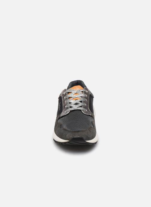 Baskets Pepe jeans FOSTER ITAKA Gris vue portées chaussures