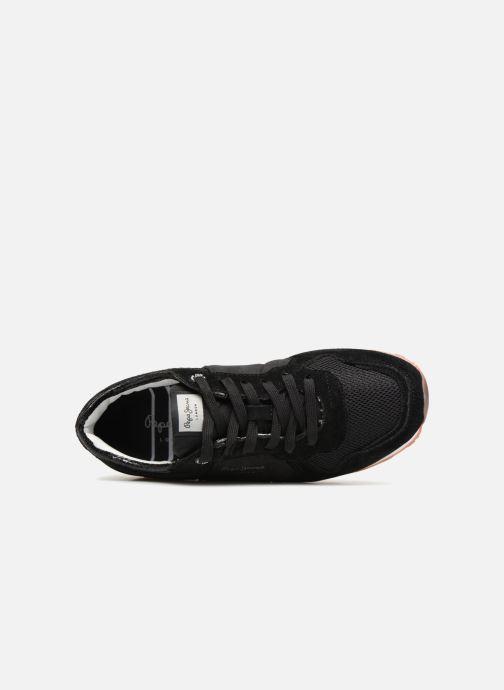 Baskets Pepe jeans VERONA W NEW SEQUINS 2 Noir vue gauche
