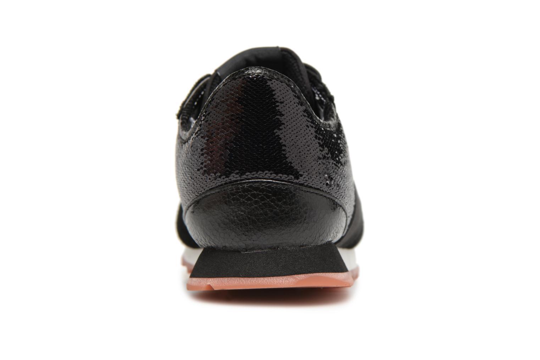 Baskets Pepe jeans VERONA W NEW SEQUINS 2 Noir vue droite