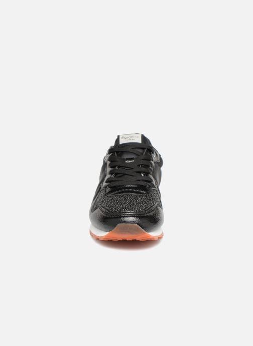 Baskets Pepe jeans VERONA W WINNER Noir vue portées chaussures