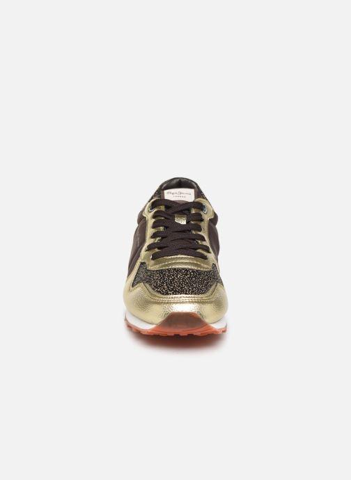 Baskets Pepe jeans VERONA W WINNER Marron vue portées chaussures