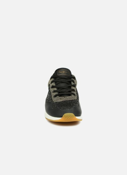 Baskets Pepe jeans KOKO SAND Noir vue portées chaussures