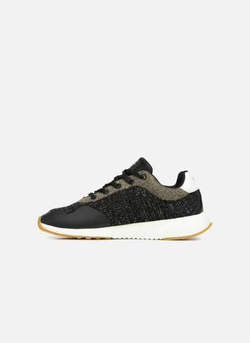 Trainers Pepe jeans KOKO SAND Black front view