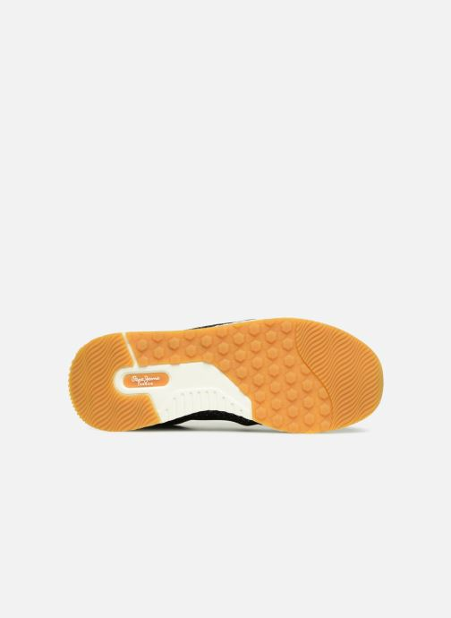 Trainers Pepe jeans KOKO SAND Black view from above