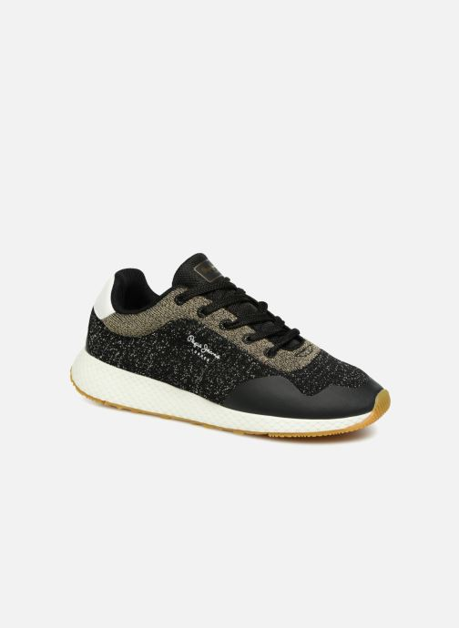 Trainers Pepe jeans KOKO SAND Black detailed view/ Pair view