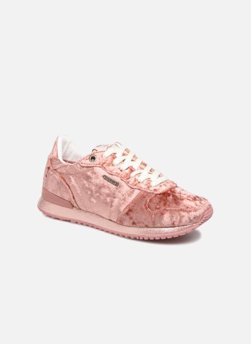 Sneakers Pepe jeans GABLE VELVET Roze detail