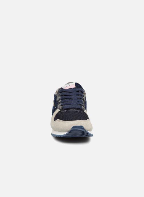 Baskets Pepe jeans GABLE TINO Bleu vue portées chaussures